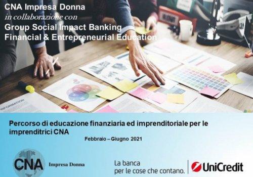 CNA Impresa Donna - Percorso di formazione finanziaria ed imprenditoriale CID - Informazioni e modulo di iscrizione