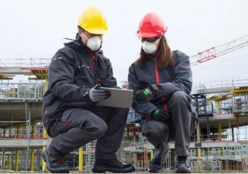 Paritätisches Komitee im Bauwesen (PKB): die Leitlinien Covid-19 fürs Bauwesen wurden 17.000mal heruntergeladen. In 20% der Baustellen wurden keine Probleme gefunden.