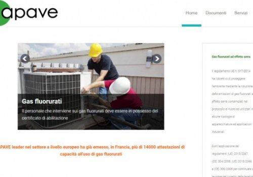 Convenzione tra CNA-SHV e APAVE. Inserimento nella Banca dati f-gas