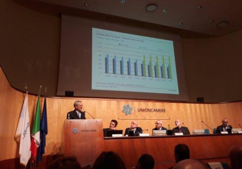 Rappresentanti della Camera di commercio di Bolzano discutono le misure strategiche per il traffico transfrontaliero a Roma