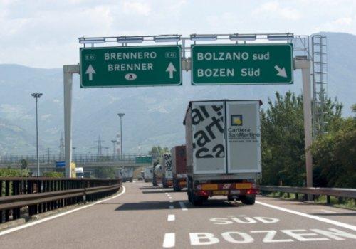"""Il 19 giugno convegno """"Strategie di intervento per il transito attraverso il Brennero"""""""