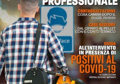 """Rivista """"L'installatore professionale"""" n. 7/Novembre-Dicembre 2020"""