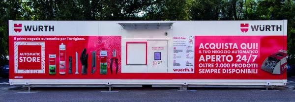 Würth inaugura l'automatic store