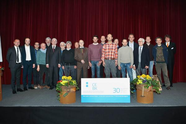 """Cassa Edile e Comitato Paritetico edile della Provincia di Bolzano: premiazione iscritti  """"30 anni di fiducia"""""""