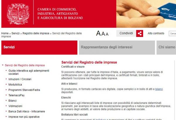 Registro imprese - Adempimenti di fine anno